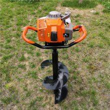 热销志成牌3.2马力植树挖坑机 52CC便携式栽树打坑机果树施肥挖窝机一机多用