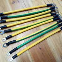 专业生产光伏电池板接地线黄绿双色镀锡铜编织线铜辫子各种电子线原厂品质低价销售