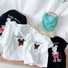 便宜卡通夏季百搭儿童短袖童装夏季纯棉T恤男童女童上衣宝宝打底衫