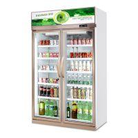 绿缔 饮料冷藏柜 展示冰柜 立式饮料柜
