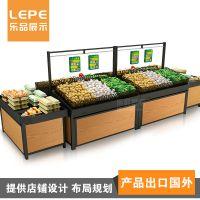 乐品供应 超市果蔬架 水果店水果货架 生鲜超市货架厂家