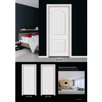 重庆木门厂首天木门供应隔音性能好,环保简约白色烤漆门