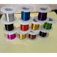 常年销售彩色丝 圆形烤漆丝装饰网用丝量大优惠
