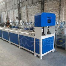 中国制造液压防盗网冲孔机 角铁切断机铁管坡口机