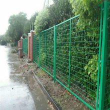 框架护栏网 浸塑绿色铁网围栏网低价销售内蒙防护网支持定做