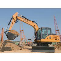 恒特挖掘机——HT135W轮式挖掘机