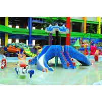 广州水上戏水小品 章鱼滑梯生产厂家 水上游乐设备