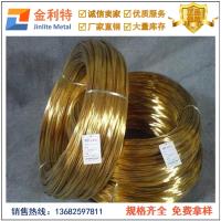 洛阳H85黄铜扁线价格 广东铆钉黄铜线批发商