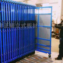 滇川铝型材厂家 板材货架 悬臂式货架价格 高位库房 ZY041804