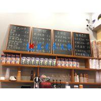 惠州推拉黑板E西安树脂磁性黑板R家用自带背胶黑板