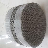 bx500型丝网波纹填料 钛丝波纹填料网 不锈钢除沫器 气液分离网