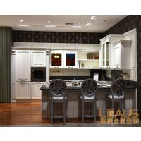 利澳全屋定制厨房,实木整体橱柜,利澳橱柜效果图,利澳加盟