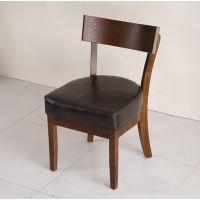 北欧风格咖啡馆餐桌椅 咖啡厅实木餐桌椅 海德利厂家定做批发