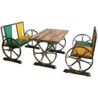 供应长春钢木餐桌椅,食堂餐桌椅,快餐桌椅
