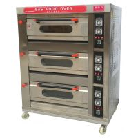 盛南方三层六盘烤箱 三层六盘电烤箱 披萨烤箱厨房设备 厂家直销