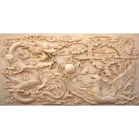 浮雕壁画石头浮雕石雕照壁九龙壁雕刻厂家--顺利石雕厂