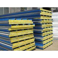 供应菏泽净化工程岩棉彩钢板及特点