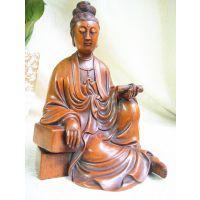 供应北魏风格黄杨木收藏品雕件心经观音菩萨雕刻摆件时代的气度和魅力