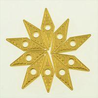 株洲钻石数控车削钢件VNMG160408-PMYBC251外圆菱形车刀片