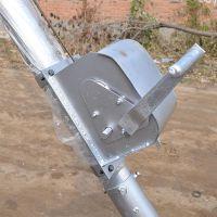 10米线杆立杆机 分体抱箍链接三脚架 铝合金三角拔杆抱杆 【刻发】现货直销