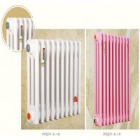 虹阳散热器厂家 定制供应 钢制椭圆管散热器 钢三柱暖气片