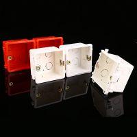 厂家直销拼装接线盒优质PVC塑料阻燃拼接线盒墙壁开关暗装底盒
