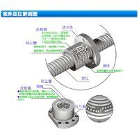 tbi2505滚珠丝杆螺母旋转式加工定制 冷轧研磨 正反牙丝杠传动rtd