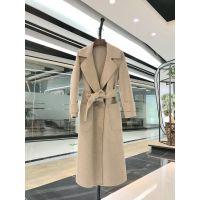 欧兰卡第二批新款双面羊绒大衣批发 品牌女装一手货源尾货走份