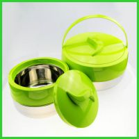 桂佳盛双层保温锅大容量保温饭盒外贸出口大餐盒四件套套装保鲜锅
