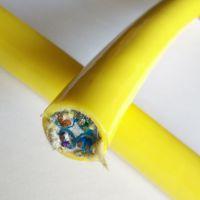 耐弯曲复合卷筒电缆电源线加485信号线 耐寒低温耐油耐磨抗拉水下卷筒线缆