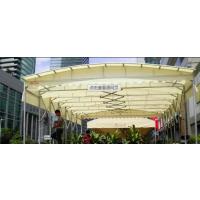 上海虹口膜结构车棚-膜结构车棚可以遮阳