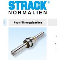 进口德国配件STRACK导柱Z4147|原装德国STRACK五金模具标准配件