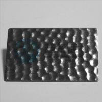 鑫名佳利不锈钢压花板 珍珠纹电梯装饰板专家