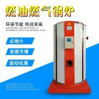 供应立式蒸汽锅炉 燃油燃气蒸汽锅炉 1吨燃气蒸汽锅炉