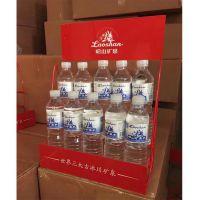 台式矿泉水展示架 价格图片信息 厂家生产 两层饮料架 小铁丝架子 桌面展架