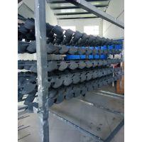 80*100方形排水管 灰色喷涂美观