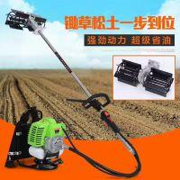 多用型汽油割草除草机 厂家直销多用汽油松土机