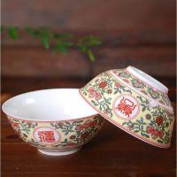 私人定制陶瓷照片碗骨瓷米饭碗刻字印字logo广告碗寿碗创意礼品