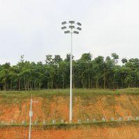 标准7人制足球场高杆灯 室外足球场千瓦灯光设计 永州体育场高杆灯供应商家柏克