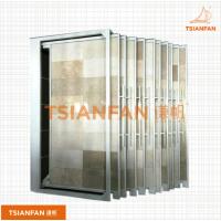 宜度厂家直销钢材瓷砖推拉架 石材展示架 瓷砖展架CT011-2