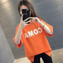低价女式T恤韩版哈伦女装上衣时尚低价尾货女式服装厂家直销