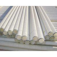 供应优质PE波纹管 白色双壁波纹管厂家直销 90 110 160等规格齐全