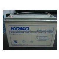 KOKO蓄电池6GFM65KOKO蓄电池12V65AH指定代理商批发价|船舶设备专用