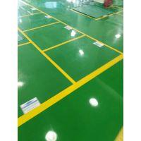 厂房车间地坪划线工程 豫信地坪会根据客服的需要 设计方案