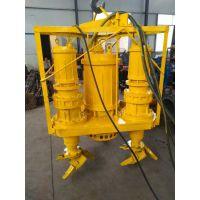 潜水搅拌式河道淘金泵,河道淘金必备耐磨潜水矿砂泵