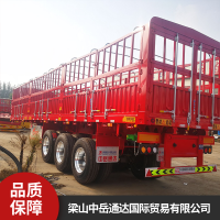 风火轮轻型仓栅式运输货车 平板式牵引挂车 厂家价格