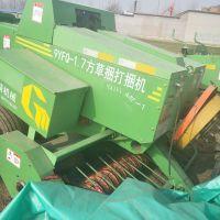 全自动青贮秸秆打捆机 牧草圆捆打捆机 棉花玉米打捆设备