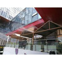 专注商业建筑中庭人造雾降温系统供应园林喷雾机案例