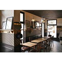 供应海鲜主题餐厅桌椅 原木酒店家具定制 上海忱净家具