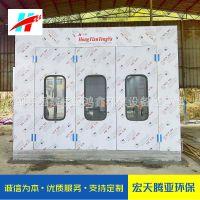 鸿鑫牌江苏南通烤漆房 优质环保型汽车及家具烤漆房厂家定做安装